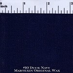 Navy #10 Duck Martexin Original Wax